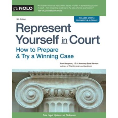 Represent Yourself in Court - eBook - Yellow Represents