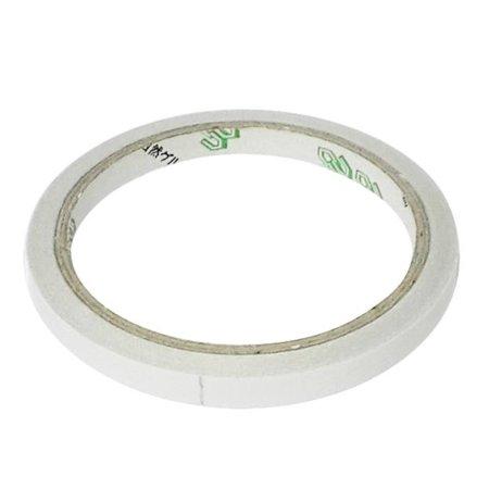 5 Rollos Cinta Adhesiva Doble Cara Transparente para Escuela Oficina 5mm x 10m
