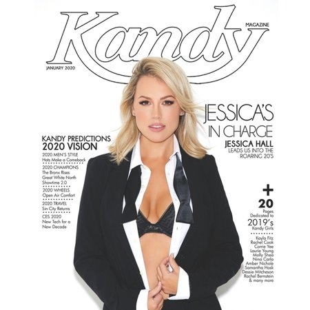 2020: Kandy Magazine January 2020: Jessica's in Charge: Jessica Hall Leads Us Into The Roaring 20s (Paperback) Lead Figurine Magazine