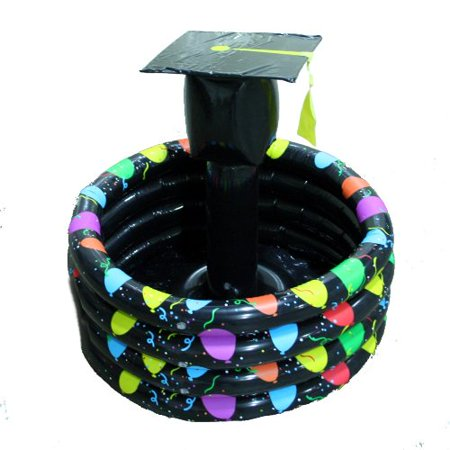 Graduation Hat Inflatable Cooler Party Supplies