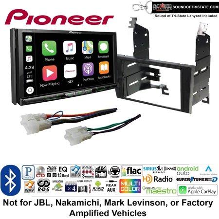 Pioneer Avh W4400nex Double Din Radio Install Kit With Wireless