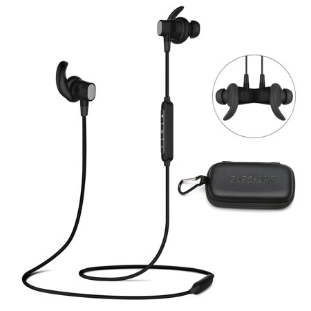 Earbuds, Wireless Headphones For Sports Gym Running ,IPX6 Waterproof and Sweatproof Magnetic Secure-Fit Headset Noise Cancelling Earphones with