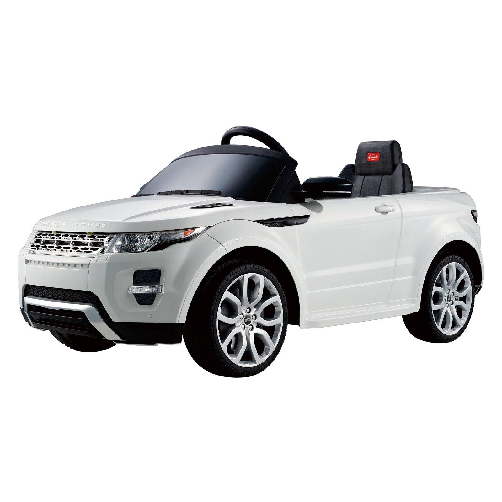 Range Rover Evoque 12V Ride-On, White