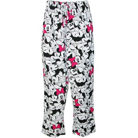 Minnie Mouse Pajama Pants,  Pink - Minnie Mouse Pajamas For Adults