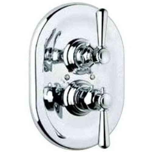 Rohl A2909 Verona Thermostatic Shower Valve Trim, Available in Various Colors