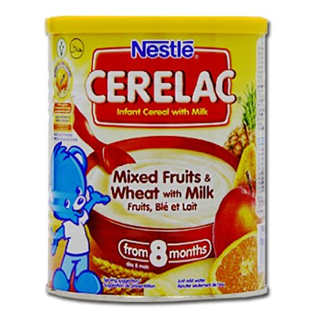 Nestle Cerelac Infant Cereal, Mixed Fruits & Wheat with Milk 1kg - Cereal Mix