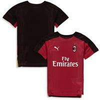 AC Milan Puma Youth 2018/19 Pre-Match DryCELL Stadium Jersey - Red/Black
