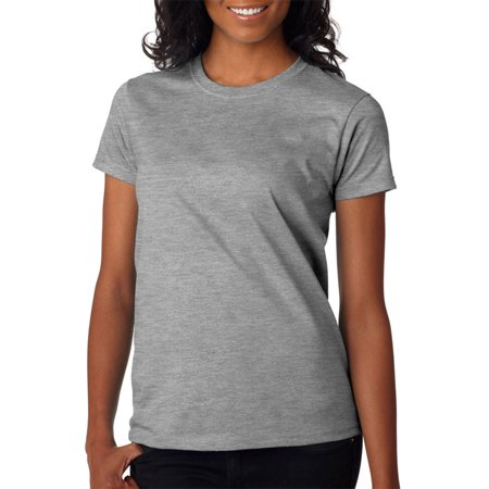 4c063f031d4 Gildan 2000L Ultra Cotton Ladies T-Shirt -Sport Grey -Medium