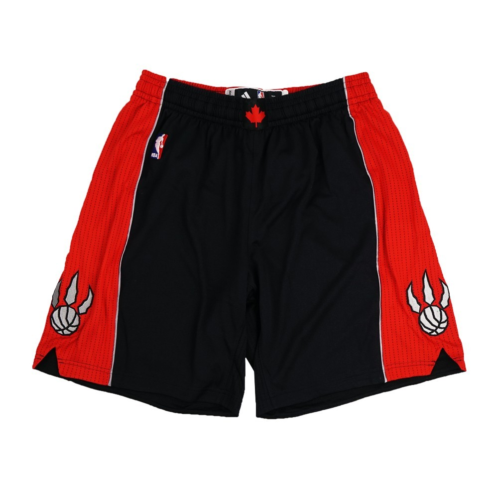 Toronto Raptors NBA Adidas Black Authentic On-Court Alternate Flex Climalite Game Shorts For Men