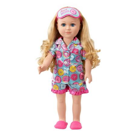 """My Life As 18"""" Sleepover Host Doll, Blonde Hair"""