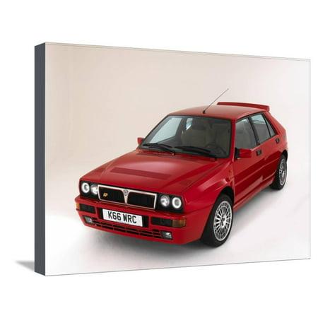 1993 Lancia Delta Integrale Stretched Canvas Print Wall