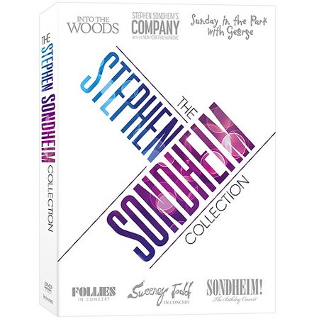 Stephen Sondheim Collection  Into The Woods   Company   Sunday In The Park With George   Follies  In Concert   Sweeney Todd   Sondheim  The Birthday Concert