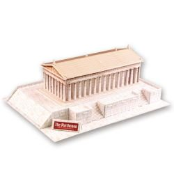 Parthenon Greece World Architectures 3 D Model Kit