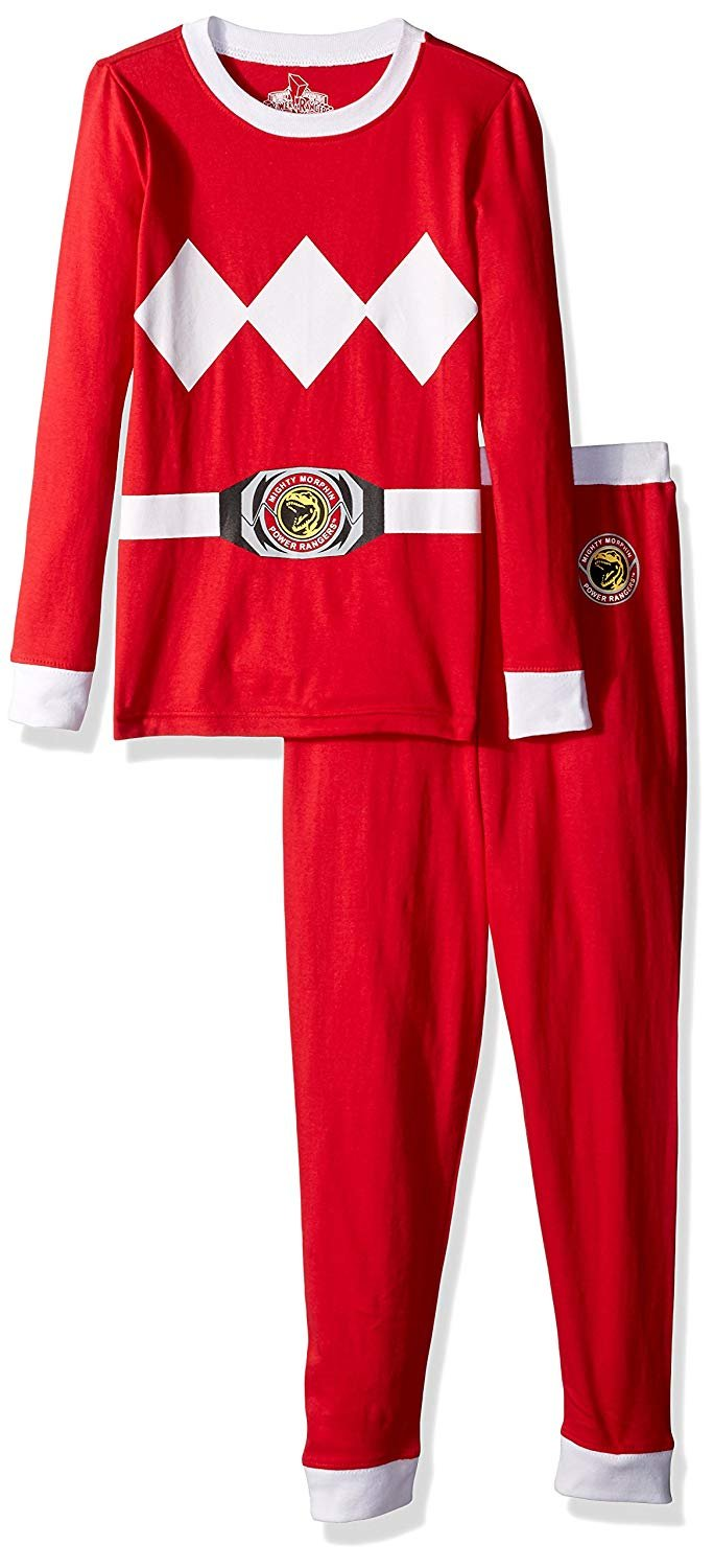 3a0d02b089 Power Rangers - Intimo Big Boys  Mighty Morphin Power Rangers Pajamas -  Walmart.com