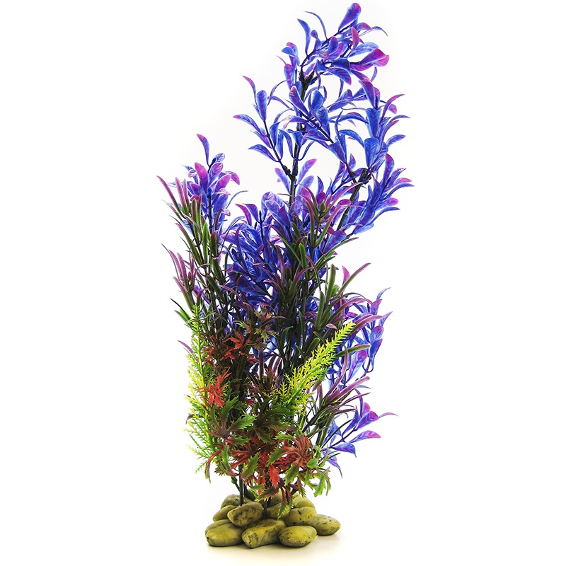 "Aquatic Creations Hygrophilia Aquarium Plant Blue Purple 15"" High by Aquatic Creations"
