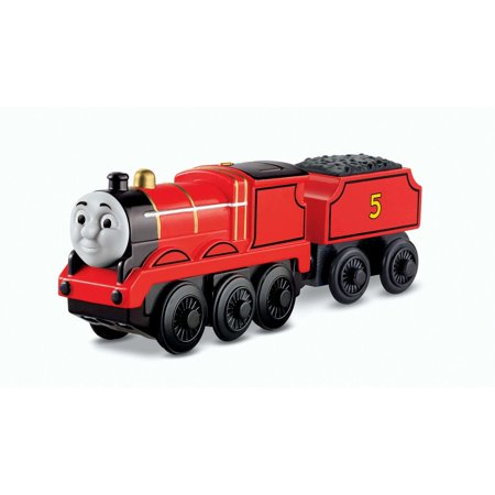 Thomas   Friends Wooden Railway Battery Operated James