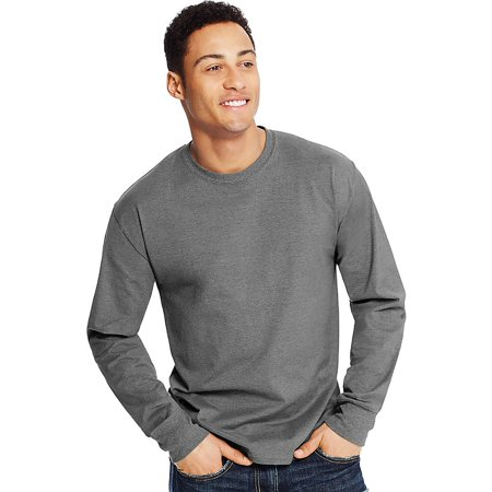 Men's X-Temp Lightweight Long Sleeve T-Shirt, Up to size - Xl Girls Ebony
