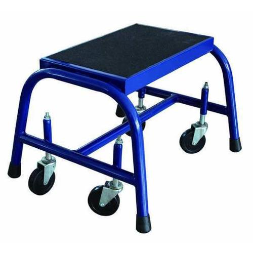 Value Brand Mobile Step Stand, Blue 12M638
