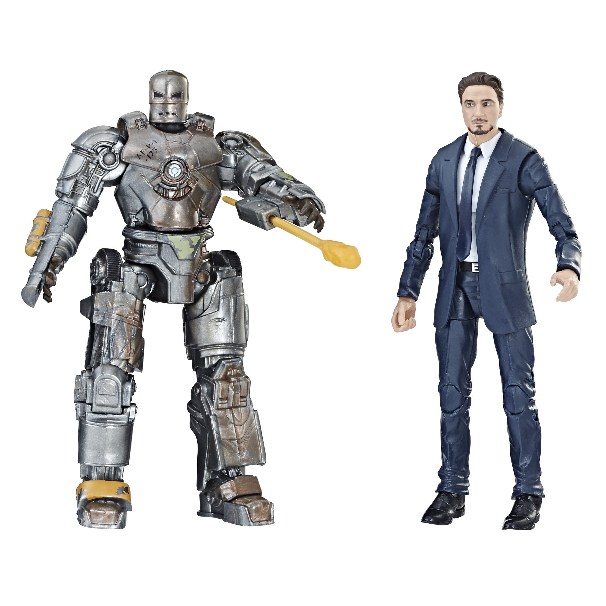 Marvel Studios: The First Ten Years Iron Man Tony Stark and Mark I