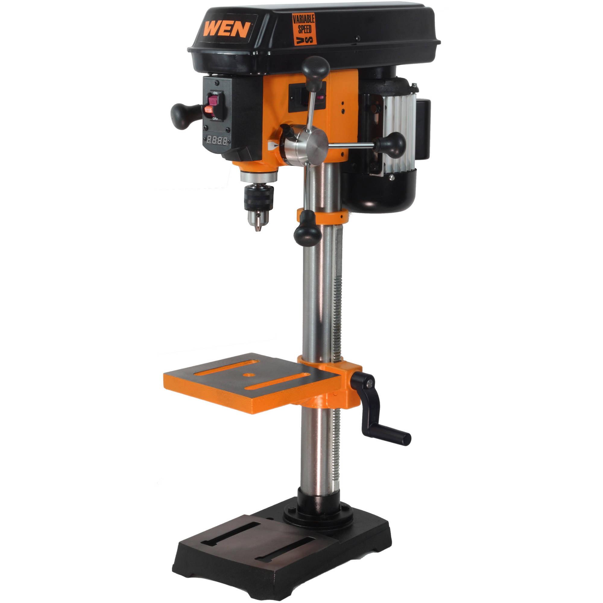 "Wen 10"" Variable Speed Drill Press"