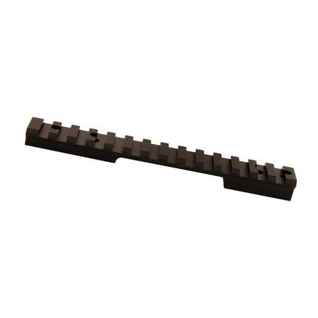 Leupold 171334 BackCountry Cross-Slot 1-Piece Base For Remington 700 Long Action Weaver Style Black Matte