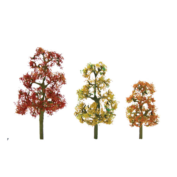 "JTT Scenery Products - Premium Tree, Autumn Sycamore 3.5-4"" (2)"