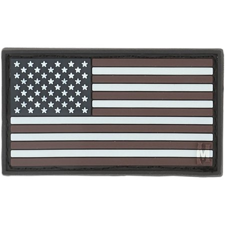 Maxpedition PVC PATCH USA1Z USA Flag Patch Small 1.92