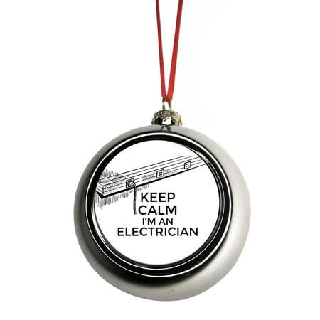 Pleasing Keep Calm Im An Electrician Electrical Wiring Job Profession Wiring Cloud Funidienstapotheekhoekschewaardnl