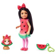 Barbie Club Chelsea Dress-Up Doll in Watermelon Costume, 6-Inch