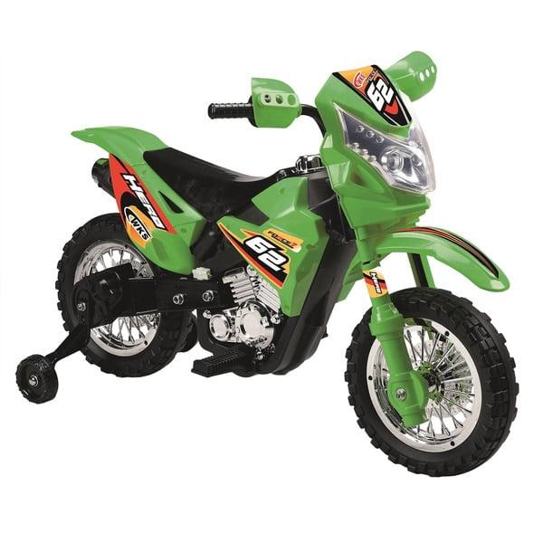 Mini Dirt Bike Motorcycle with Headlight 6V Kids Battery ...