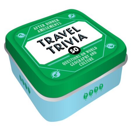 After Dinner Amusements: Travel Trivia : 50 Questions on World Geography and