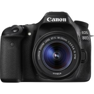 Canon EOS 80D 24.2 Megapixel Digital SLR Camera with Lens