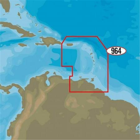 C-Map NA-D964 4D Puerto Rico to Rio Orinoco Local Map ()