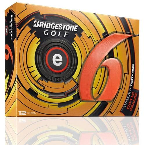 Bridgestone ESOX6D e6 12 pk Golf Balls Orange