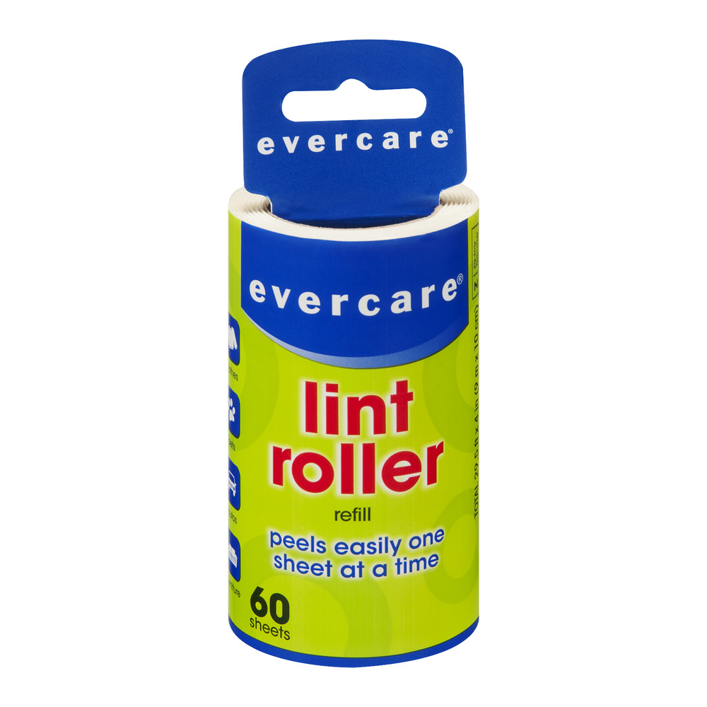 Evercare Lint Roller Refill - 60 Sheets, 1.0 CT