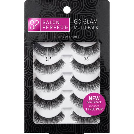 Salon perfect lash value pack 33 black 5 pairs for Hair salon perfect first essential