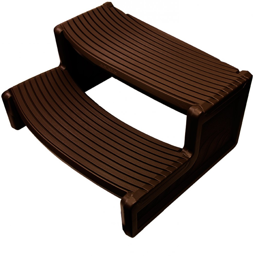 Confer Plastics HS2 Espresso Resin Handi-Step For Spa and Hot Tubs by