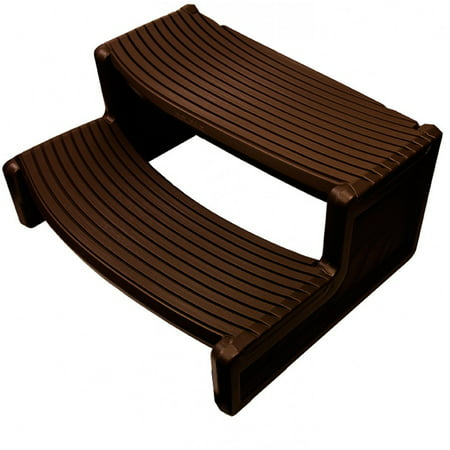 Confer Plastics HS2 Espresso Resin Handi-Step For Spa and Hot Tubs