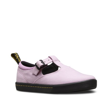 Dr. Martens Winona Mary Jane Mallow Pink Uk 3 - Girls Dr Martens Shoes