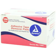 Dynarex Adhesive Tape Remover Pad 100 Each