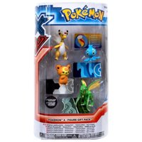 Pokemon XY Mega Ampharos, Manaphy, Teddiursa & Scyther Mini Figure 4-Pack