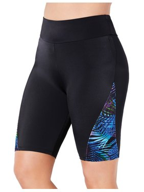 Swimsuits For All Women's Plus Size Disco Bike Short