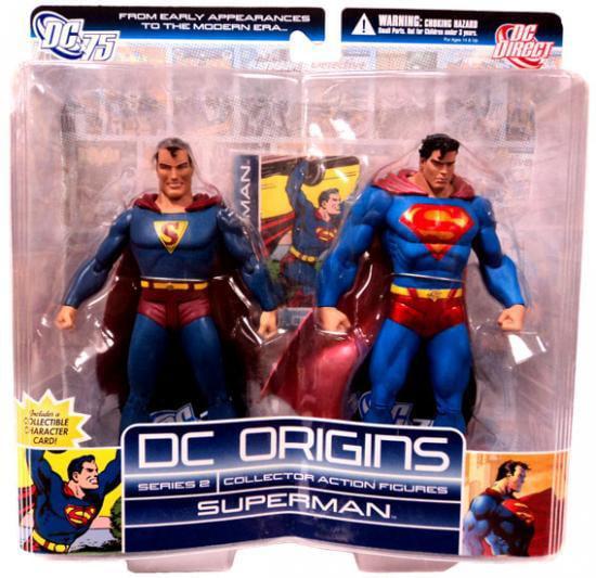 DC Direct DC Origins Series 2 Superman Action Figure 2-Pack