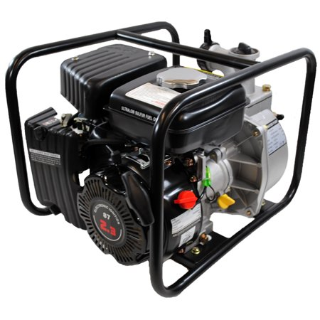 4-Stroke 123 GPM 1-1/2 Inch 2.3 HP Gas Powered Portable Water Pump - Hydrostatic Test Water Pump