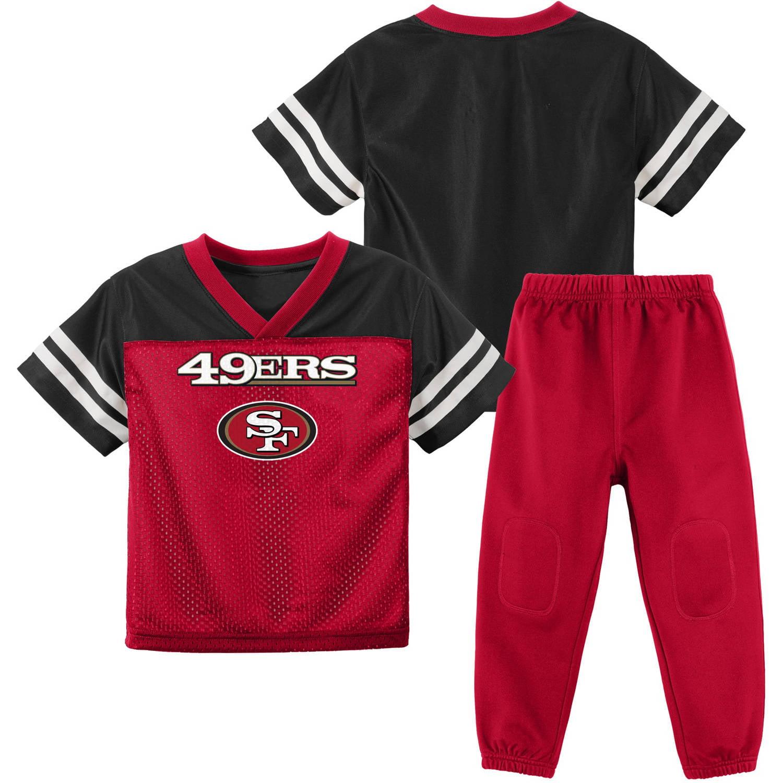 NFL San Francisco 49ers Toddler Short Sleeve Top and Pant Set