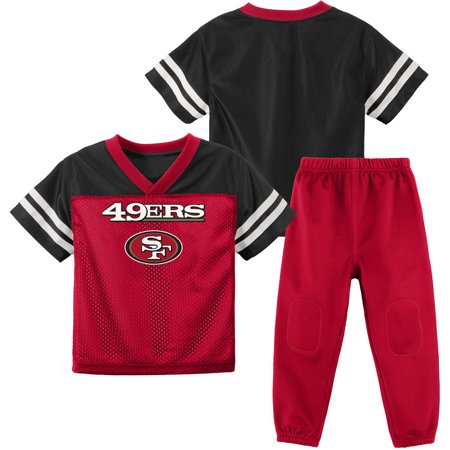 NFL San Francisco 49ers Toddler Short Sleeve Top and Pant Set by