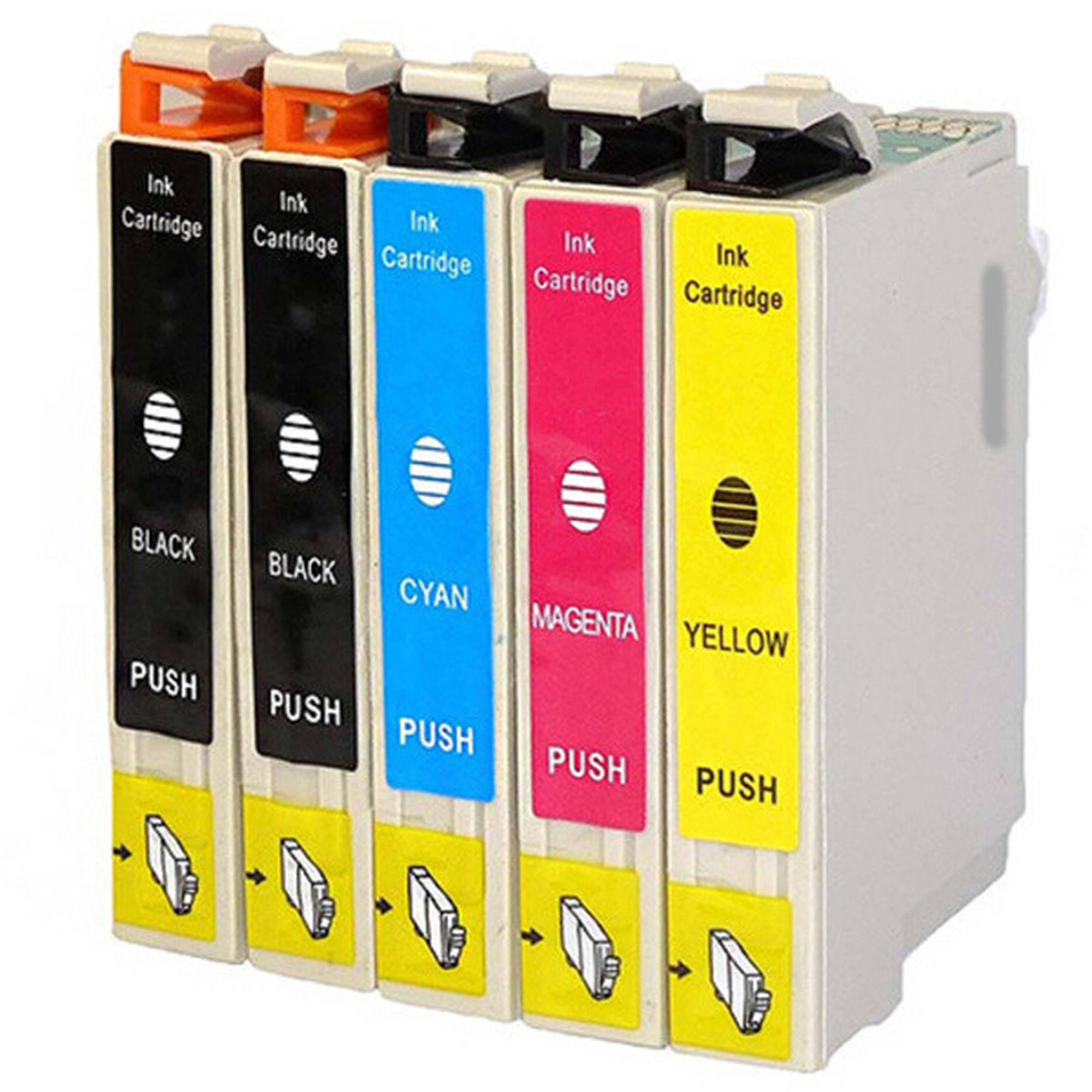 Compatible Inkjet Cartridges Multipack for Canon CLI-271 XL/PGI-270 XL, 5-Pack