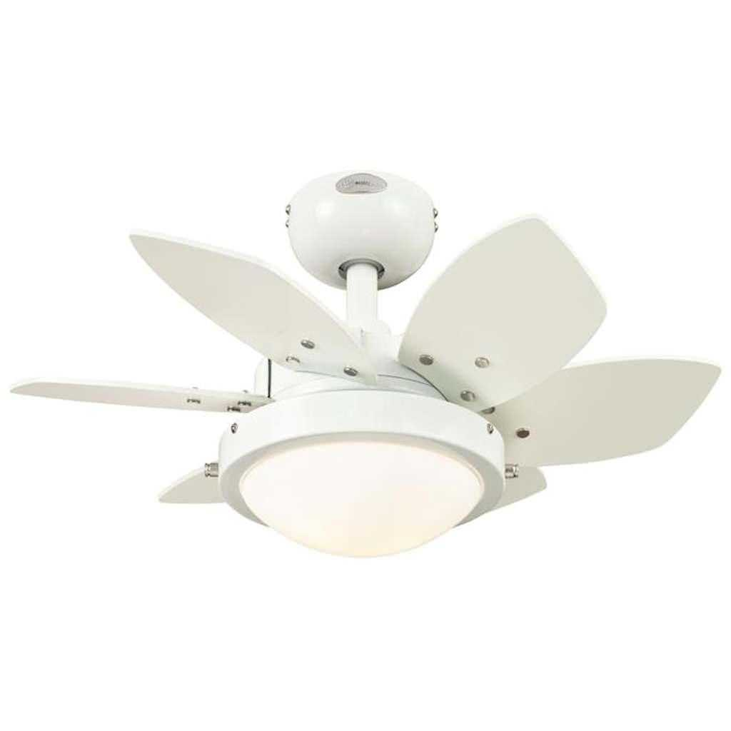 "Westinghouse 72471 - 2 Light 24"" Quince White Ceiling Fan - Walmart ..."