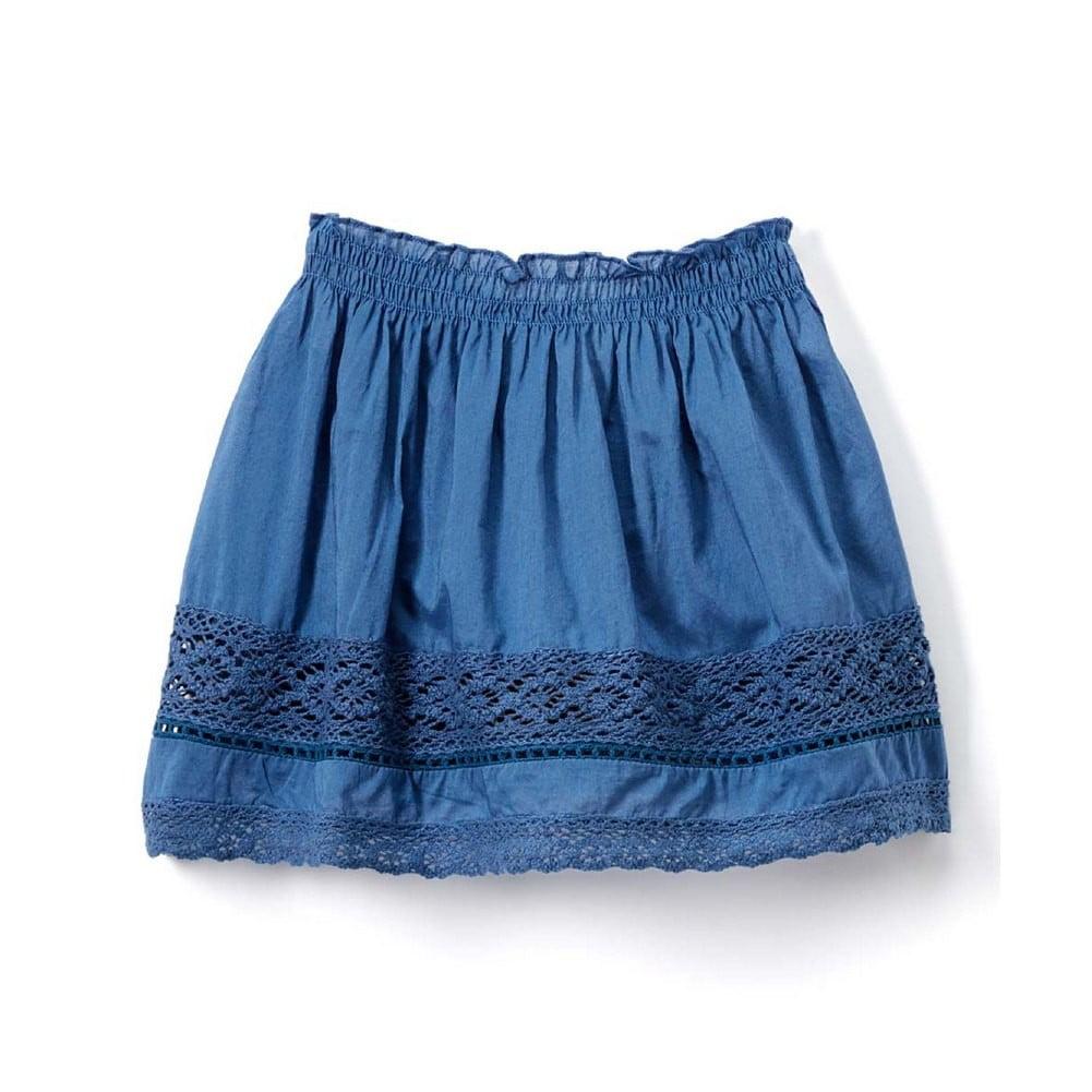 Azul Blue Peasant Shorts