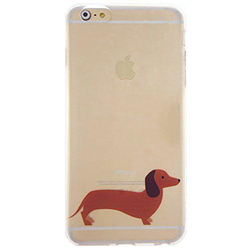 CaseBee _ Dachshund Doggy Soft Clear TPU iPhone 6_6S _4.7...